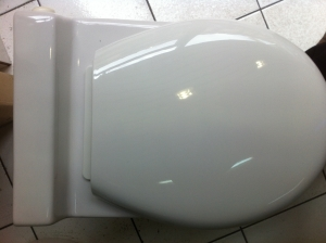 Abattant blanc thermo